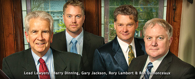 The team at the Dinning Hunter Lambert & Jackson law firm, Victoria, British Columbia, Canada
